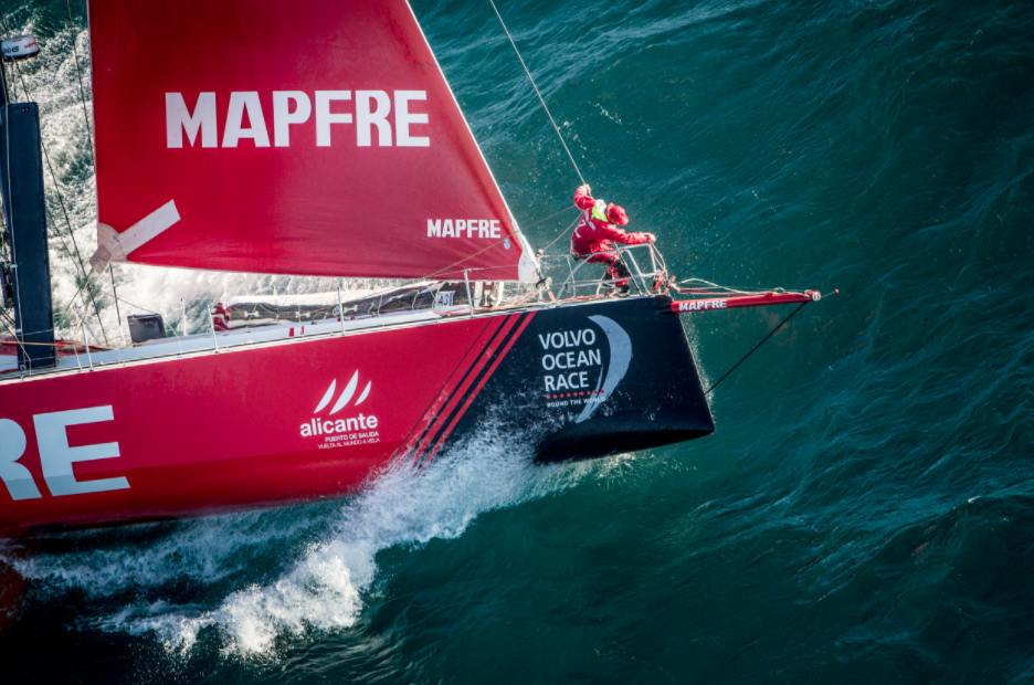 Volvo Ocean Race: Rotation Mode Is On