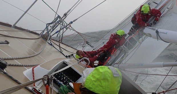 Clipper Race: Great Cape and three oceans