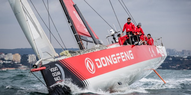 Introducing: the new Dongfeng Race Team boat for the 2017-18 edition!