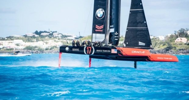 Oracle Team USA flying to efficiency
