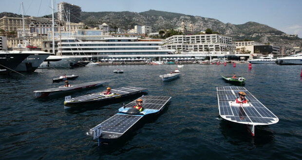 Solar-Powered Boat Regatta in Monaco