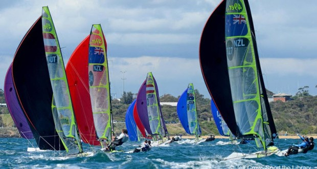 ISAF Sailing World Cup begins this week in Australia